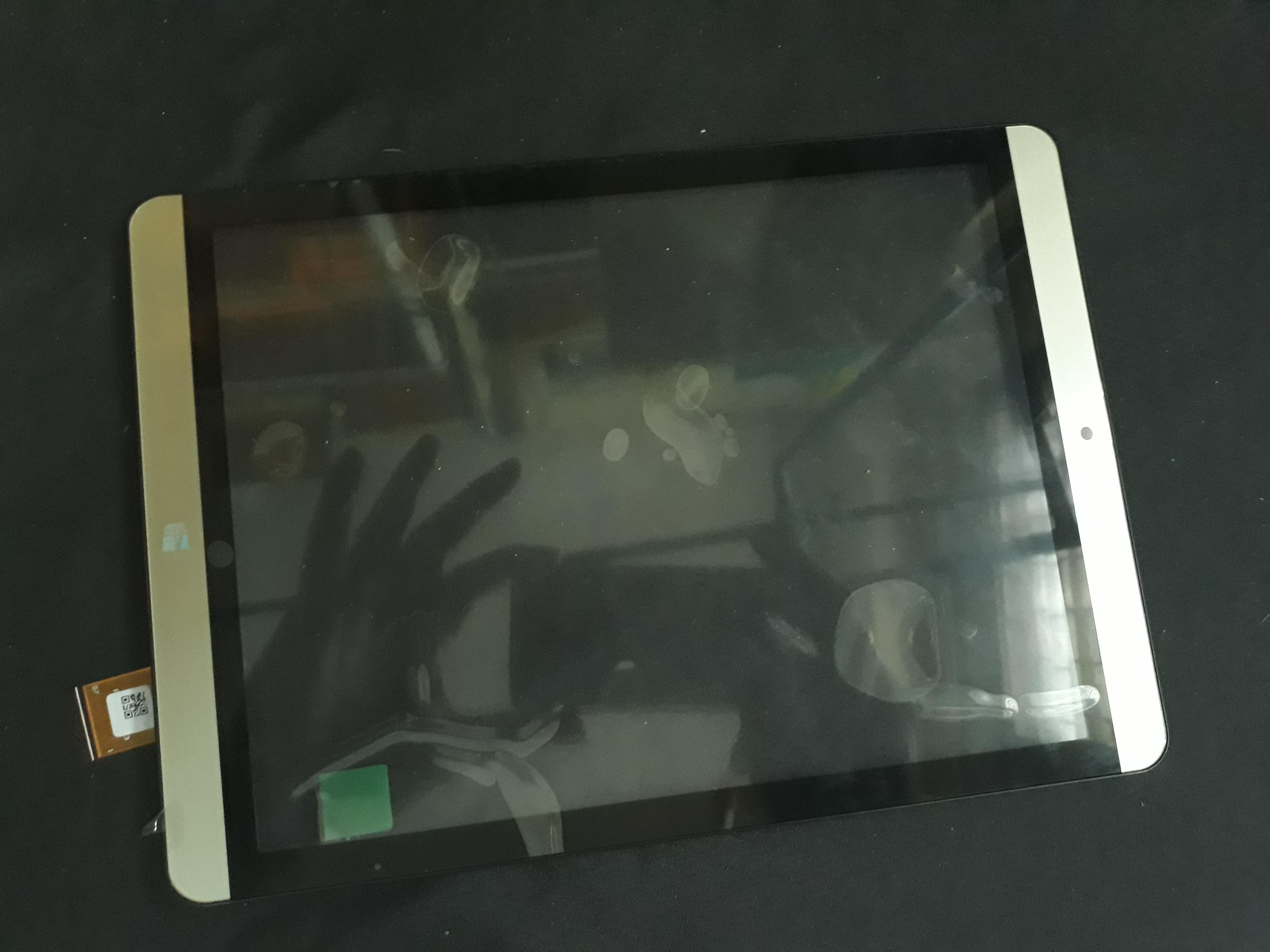"""จอทัชสกรีน ONDA V919 3G 9.7"""" ของใหม่ สีทอง พร้อมกรอบ"""