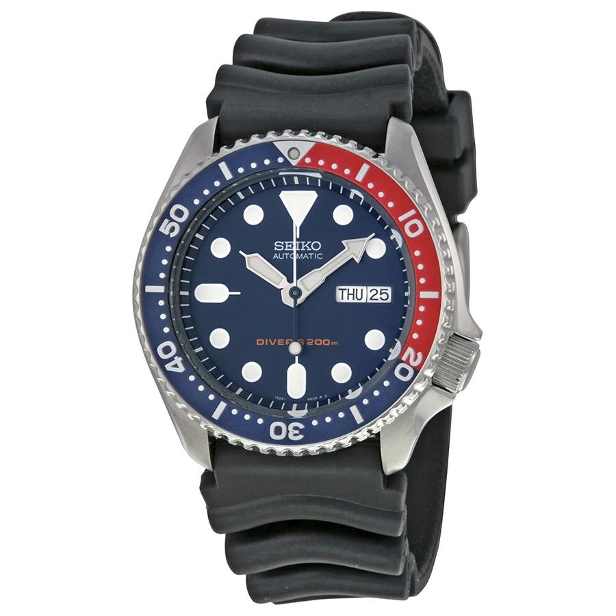 นาฬิกาผู้ชาย Seiko Automatic Diver' 200M Men's Watch รุ่น SKX009K1