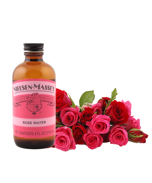 Nielsen Massey Rose water 4 Oz (118 ml)
