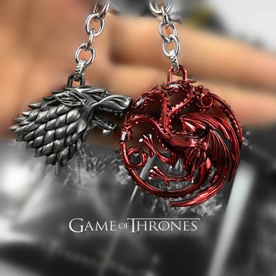 Preorder พวงกุญแจ GAME of thrones [หลายตระกูล]