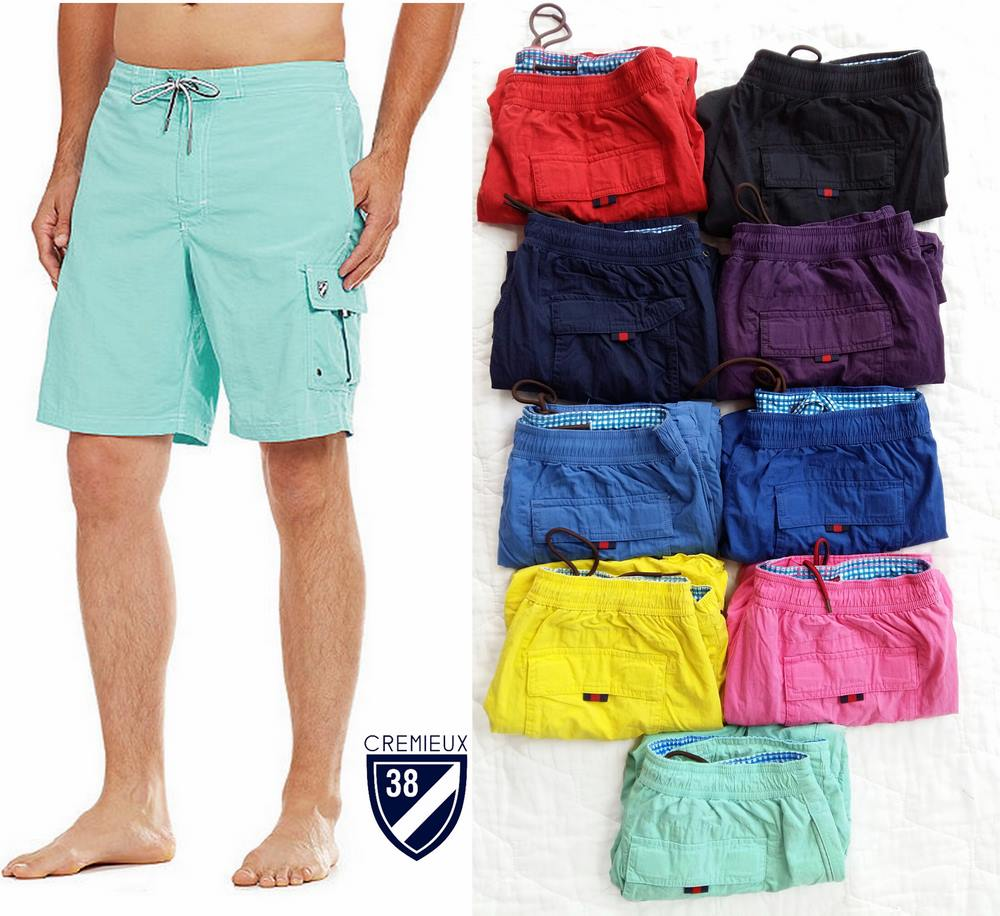 Cremieux Solid Cargo Shorts