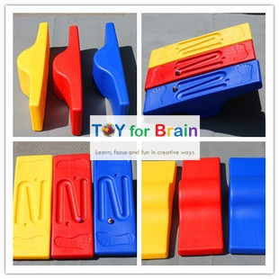 Balance Board - Seesaw กระดานหกมหัศจรรย์เสริม sensory การทรงตัวและเคลื่อนไหว - Yellow