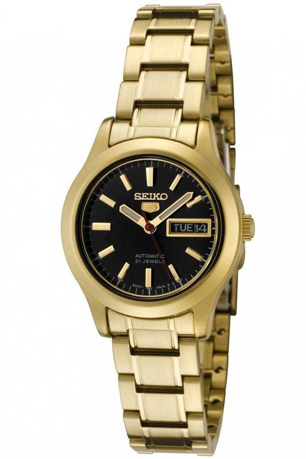 Seiko Women's SYMD96K1 Automatic Gold Tone Watch