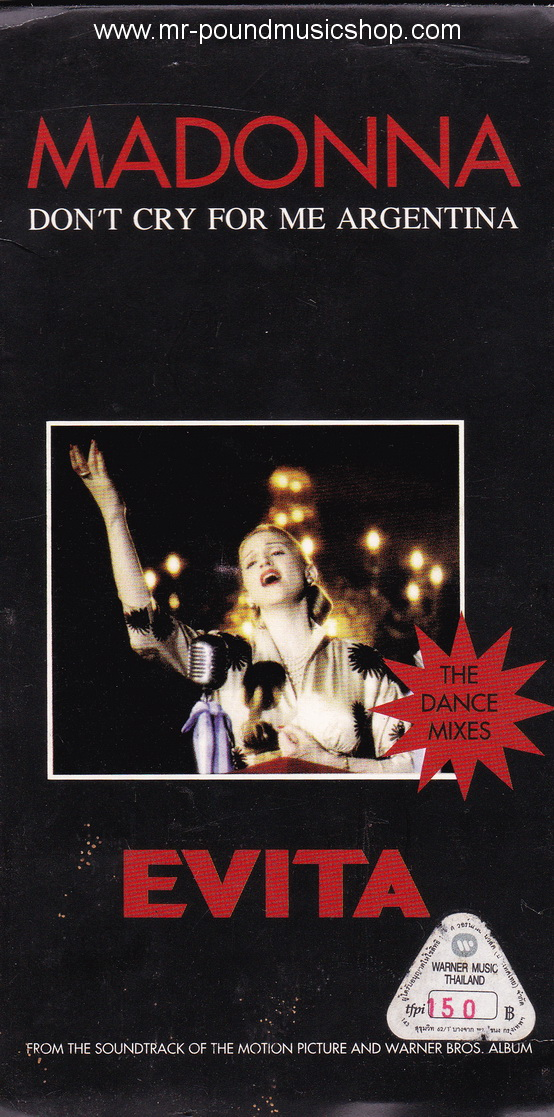 Madonna - Don't Cry For Me Argentina (From OST. Evita)