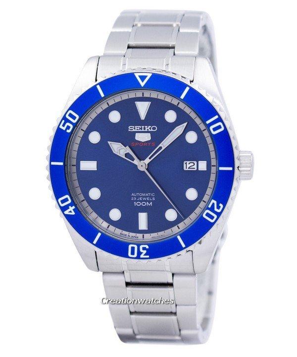นาฬิกาข้อมือ Seiko 5 Sports Automatic SRPB89J1(Made in Japan)