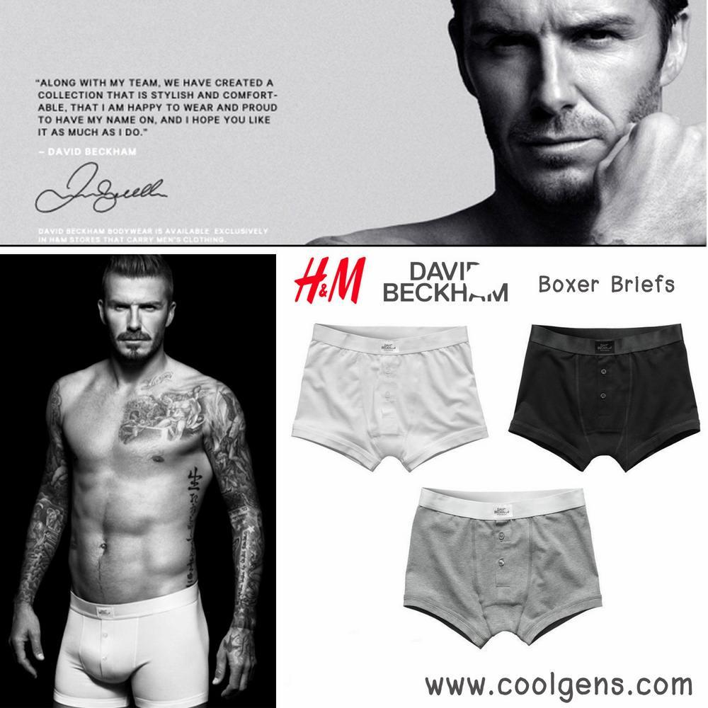 Devid Beckham Boxer Briefs( H&M )