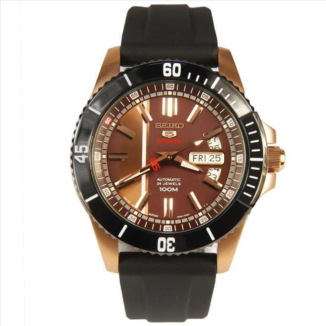 Seiko 5 Sports Automatic 50th Anniversary Men's Watch รุ่น SRP430K1