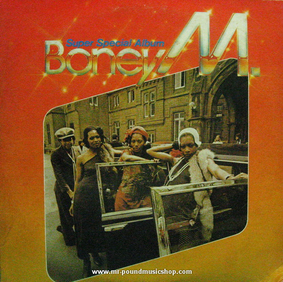 Boney M. - Best - Rasputin, Voodoonight, Dancing In The Streets