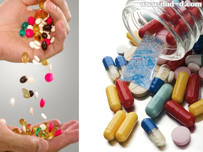 desiccant packet in drug