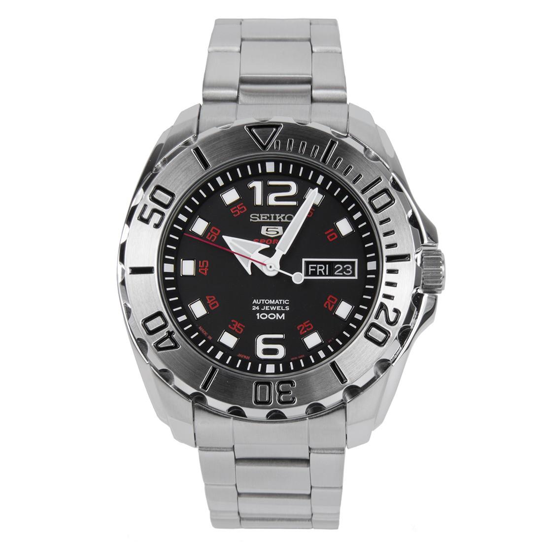 นาฬิกาข้อมือ Seiko 5 Sports Automatic (New Baby Monster) SRPB33J1 (Made in Japan)