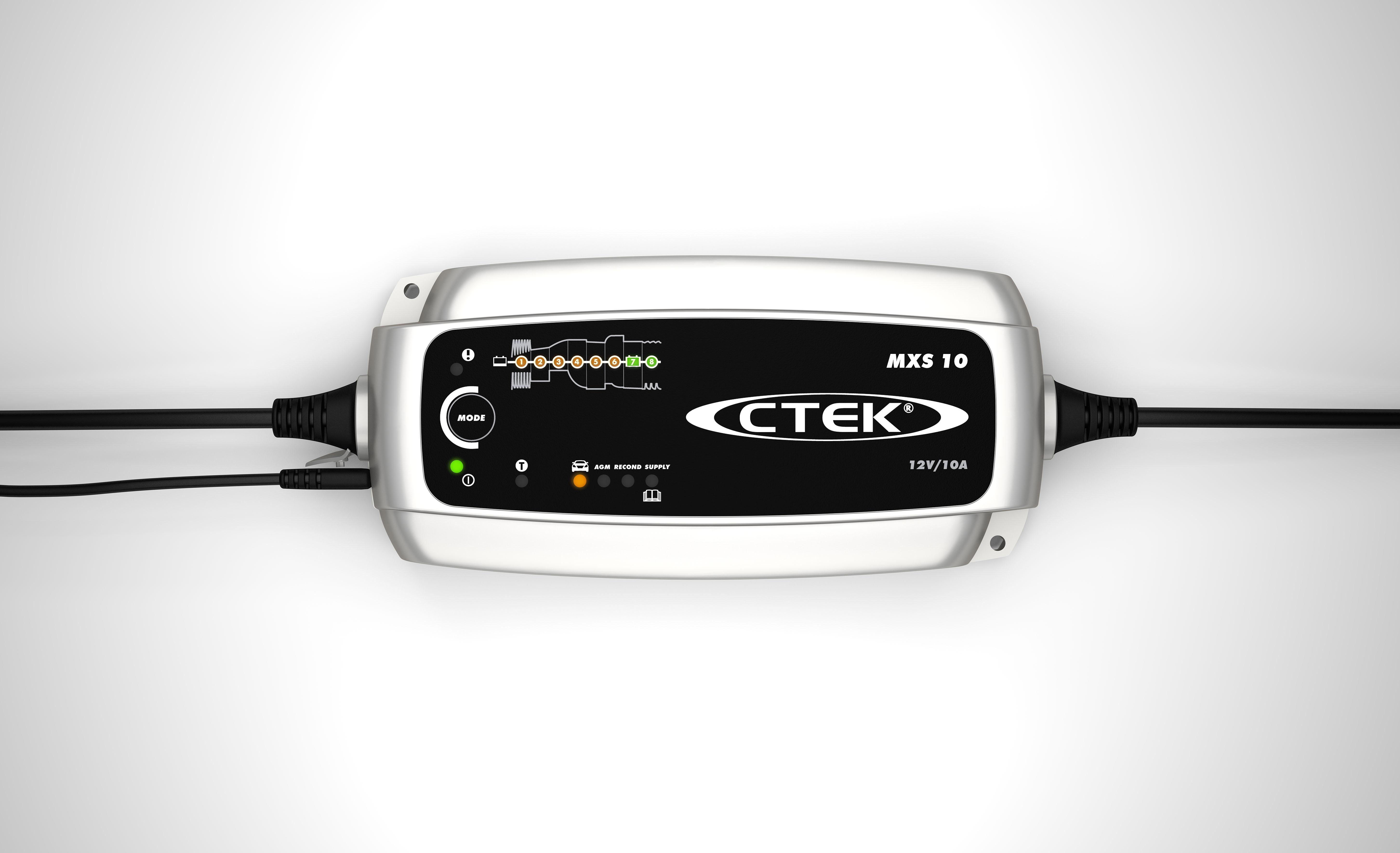 เครื่องชาร์จแบตเตอรี่อัจฉริยะ CTEK รุ่น MXS 10