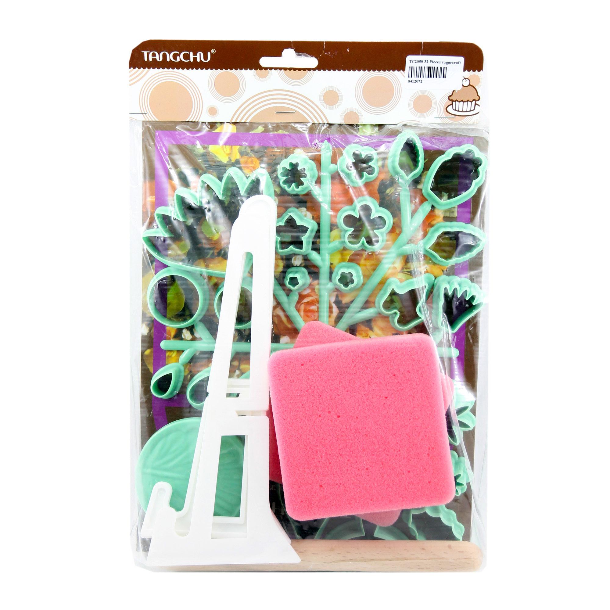 ชุดที่กดทำดอกไม้ gum paste 32 แบบ