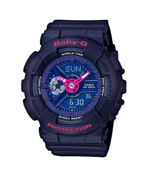 นาฬิกาผู้หญิง CASIO Baby-G Punching Pattern series รุ่น BA-110PP-2A