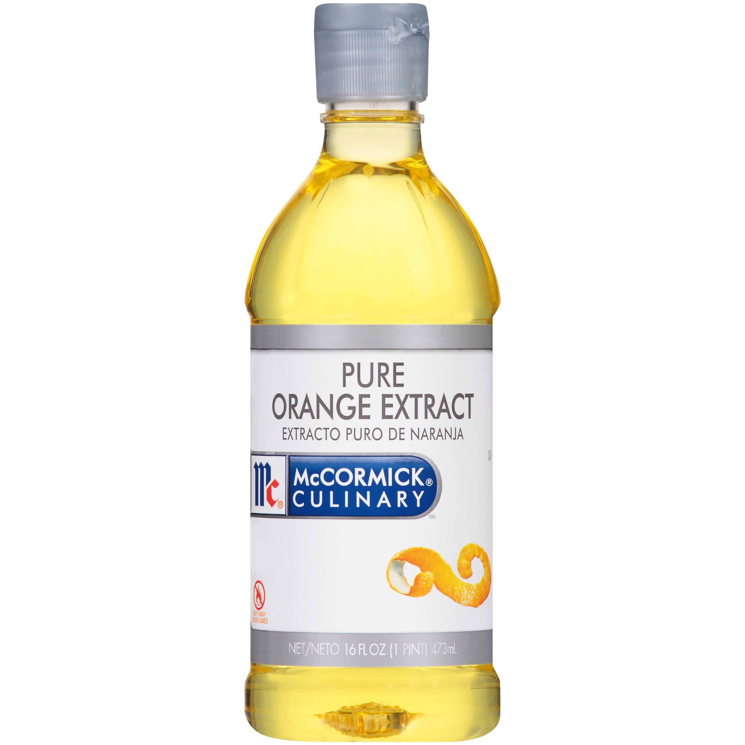 Mc Cormick PURE Orange Extract (กลิ่นส้ม) 473 ml.