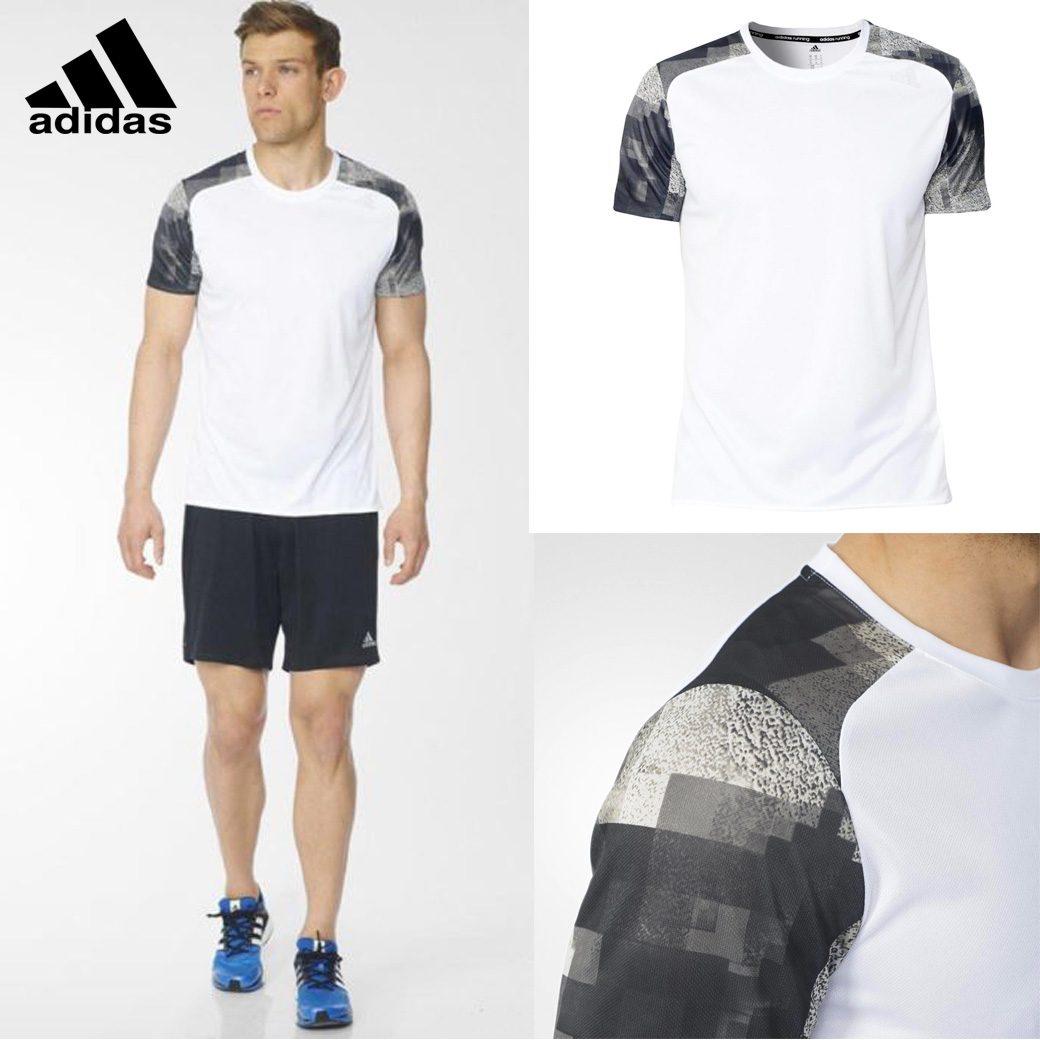 Adidas Men's Response Graphic Running Tee