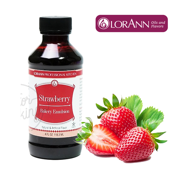 LorAnn Strawberry (Bakery Emulsion) 4 Oz. (118.3ML)
