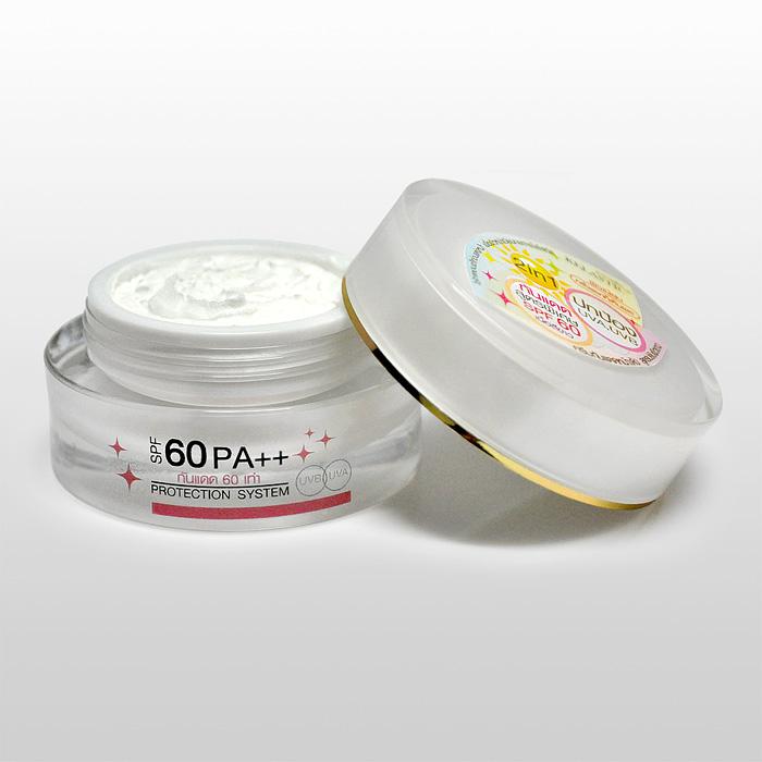 MAGIC SUNSCREEN SPF60 PA++[สีขาว] กันแดดซิลิโคนกันน้ำ ป้องกันแดด 60 เท่า