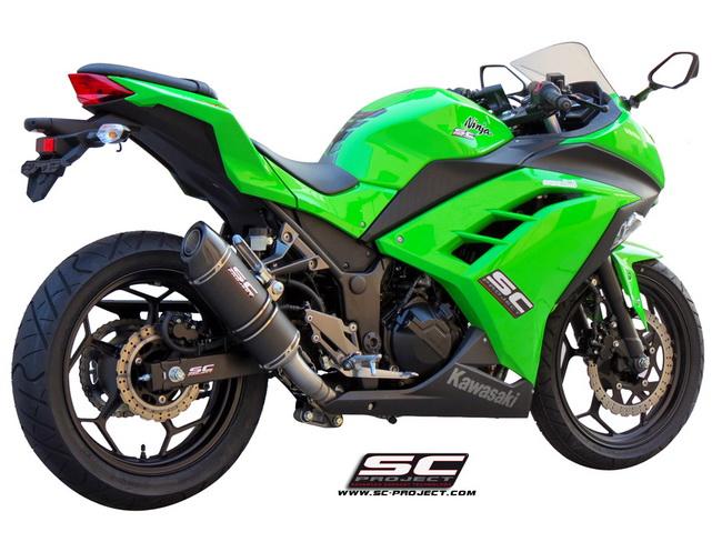 SC Project Full System Oval Kawasaki Ninja 300