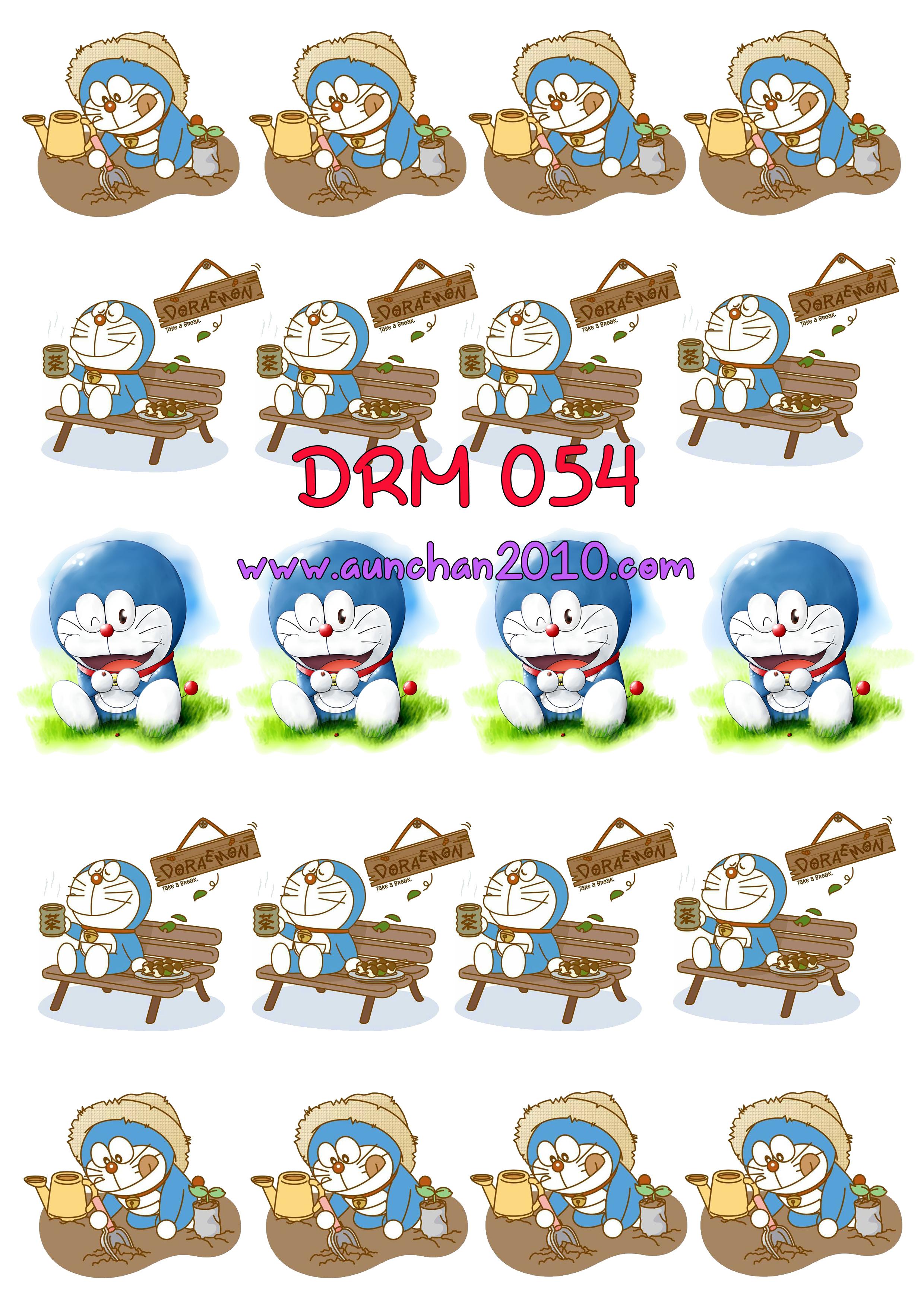 DRM054 กระดาษแนพกิ้น 21x30ซม. ลายโดราเอม่อน