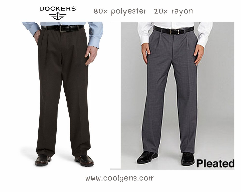 Dockers D3 pleated