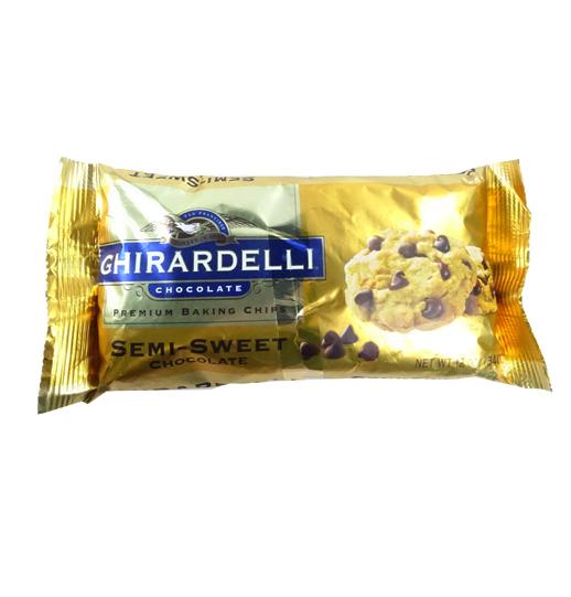 Ghirardelli choc chip 12 OZ (340g)