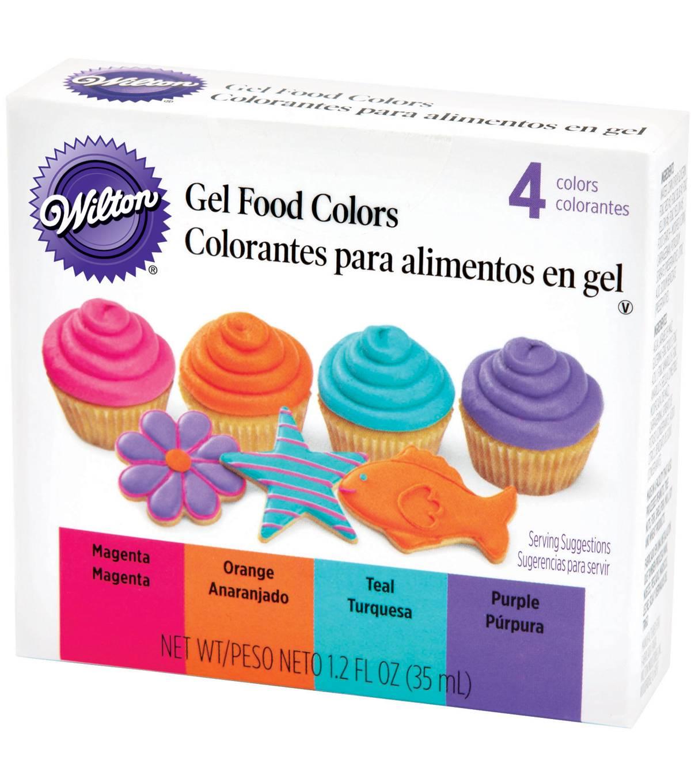 Wilton Gel Food Color Set 4 Colors