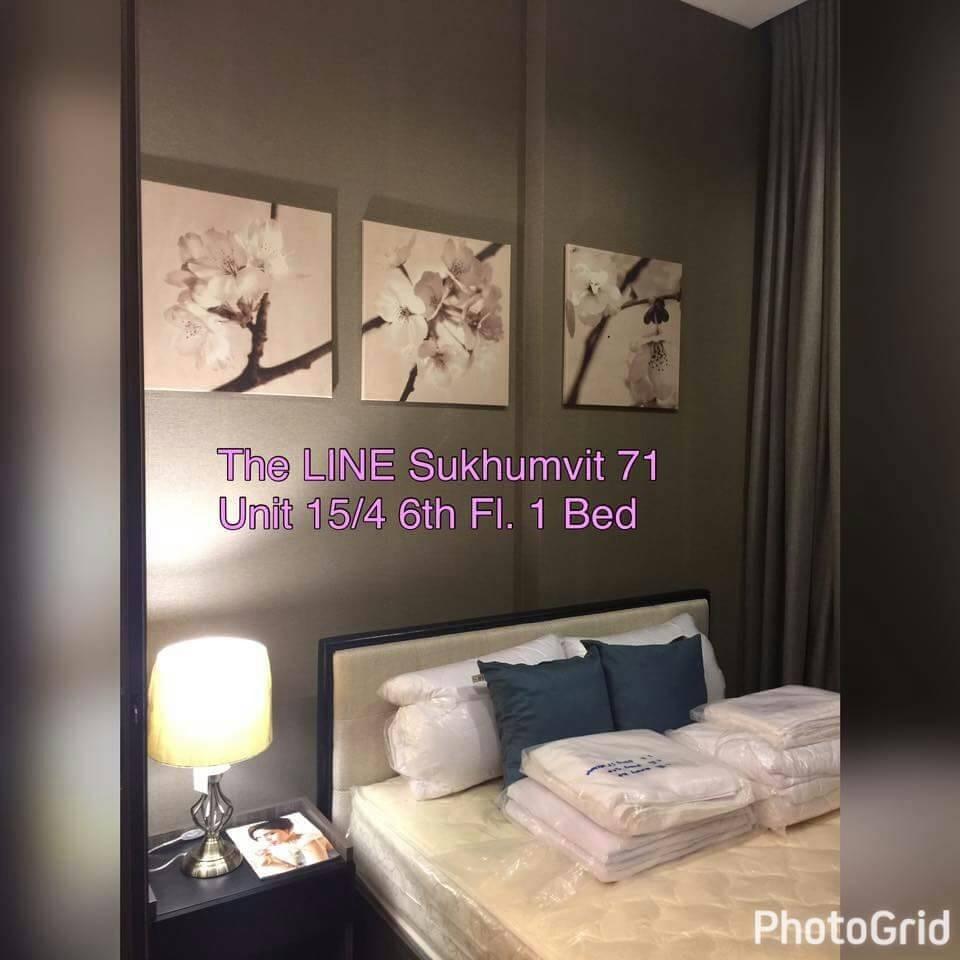 รหัสทรัพย์ 29650 ให้เช่าคอนโด The Line Sukhumvit 71 (เดอะ ไลน์ สุขุมวิท 71) ห้อง 1 ห้องนอน 1 ห้องน้ำ