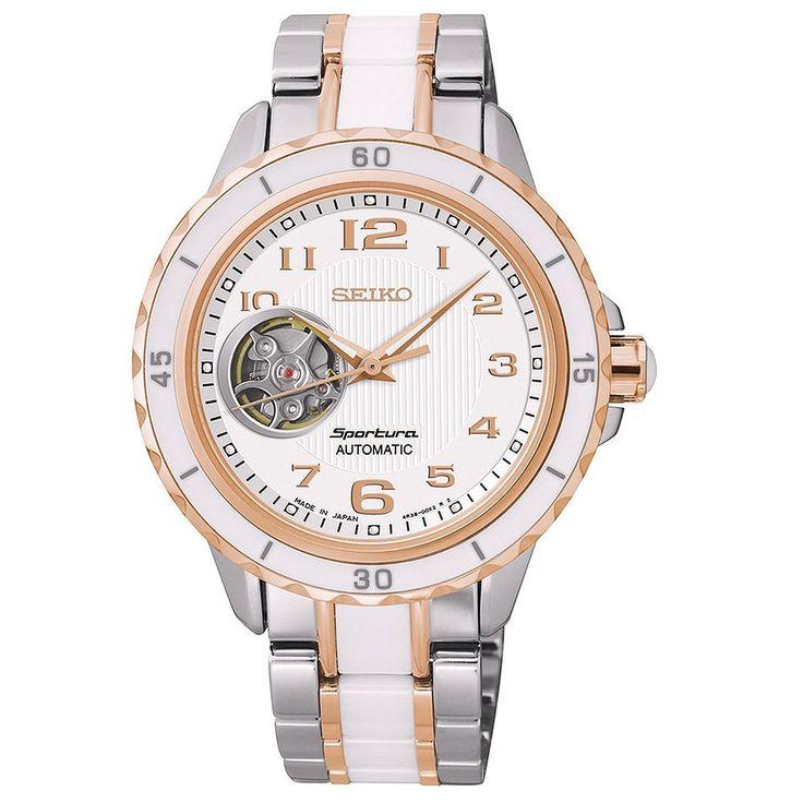Seiko Sportura Automatic Stainless Steel - Two-Tone Women's watch SSA880