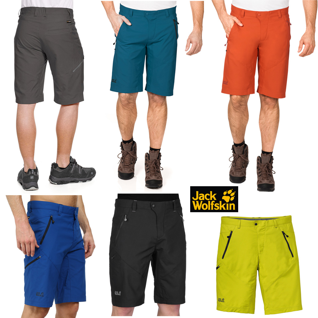 Jack Wolfskins Men's New Active Track Shorts