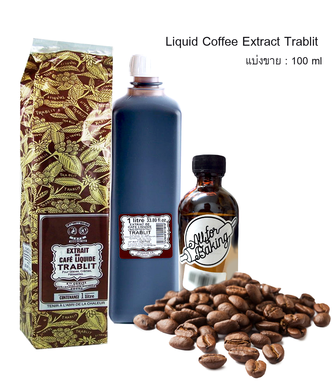 Liquid Coffee Extract Trablit 100 ml