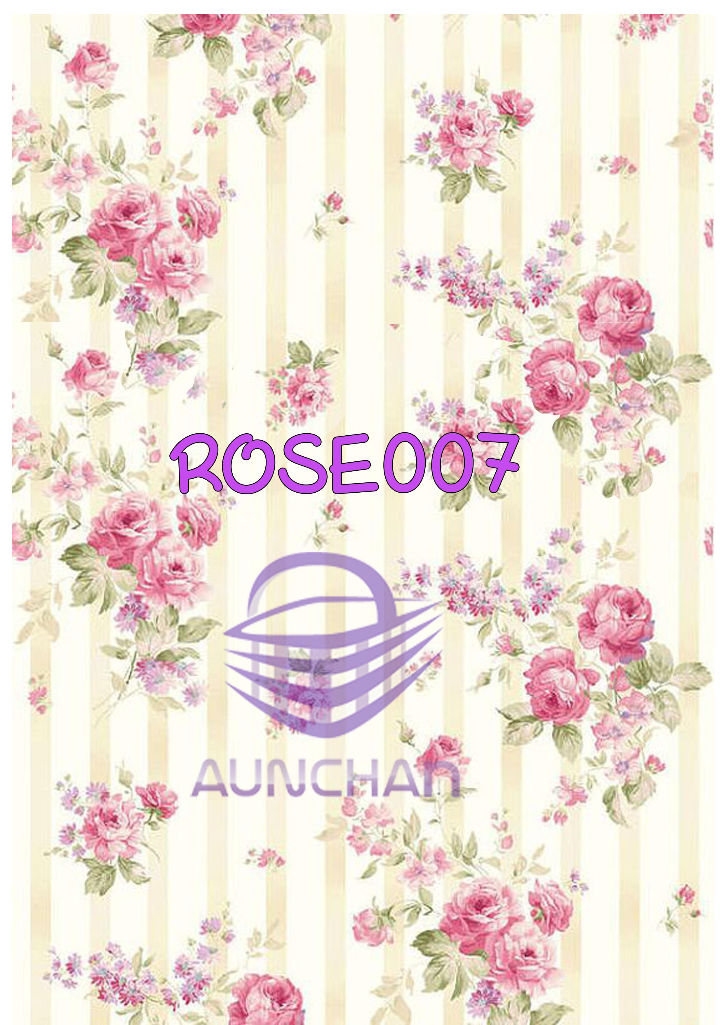ROSE007 กระดาษแนพกิ้น 21x30ซม. ลายกุหลาบ