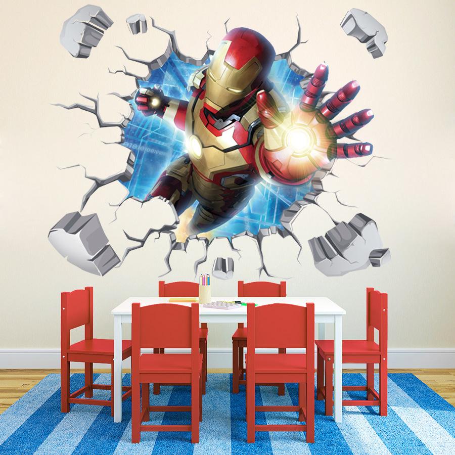 Preorder วอลเปเปอร์ 3D Iron man ขนาด1เมตร