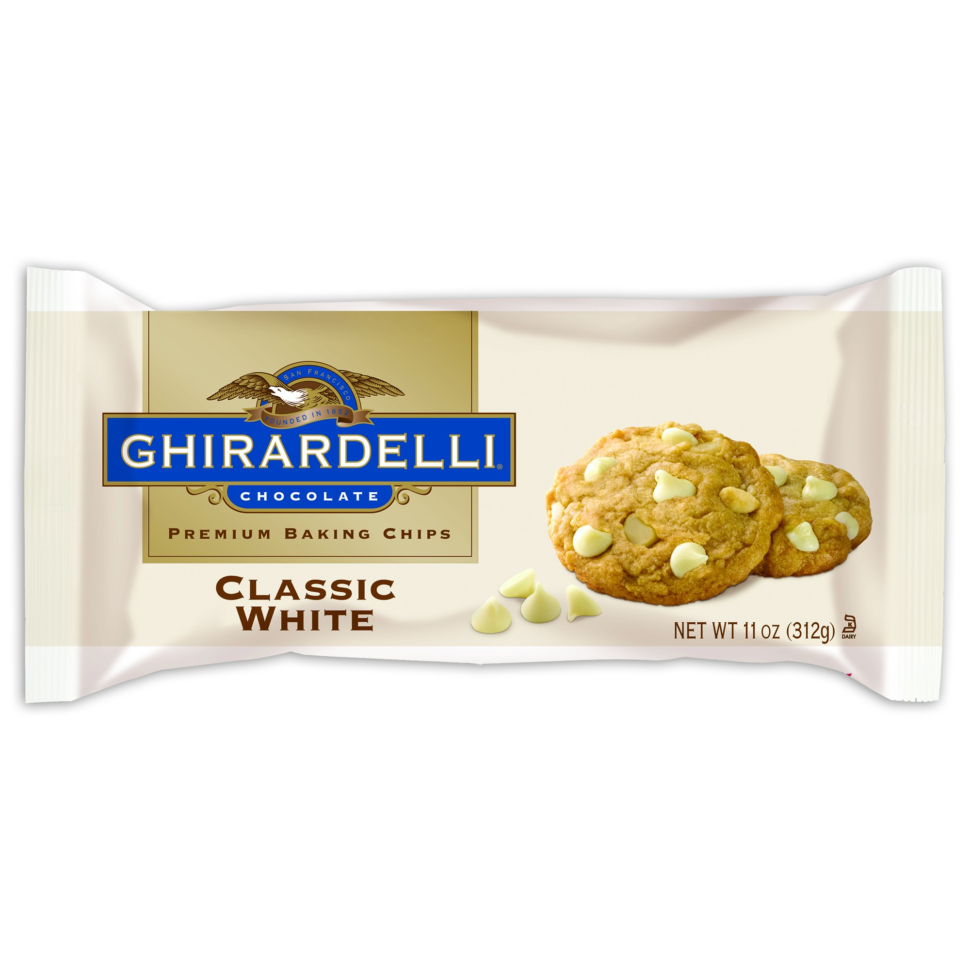 Ghirardelli white chip (312g)