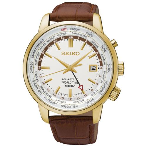 นาฬิกา SEIKO KINETIC NEO SPORTS GOLD SUN070P1