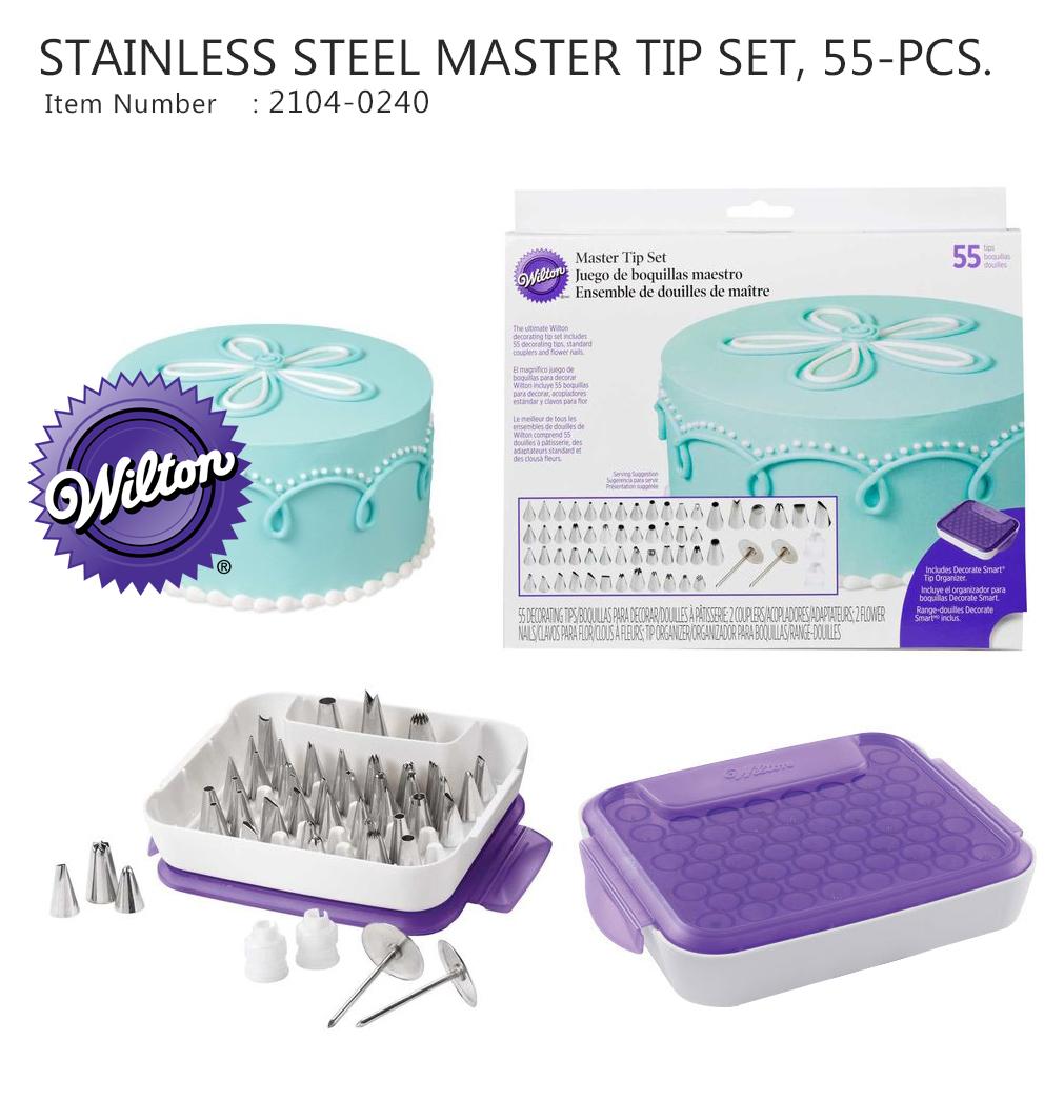 Wilton Master Tip SET, 55-PCS. (Wilton 2104-0240)