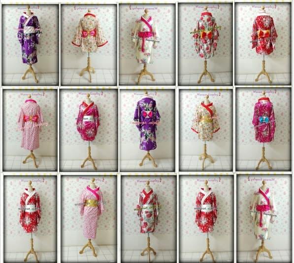 เช่าชุดกิโมโน ชุดญี่ปุ่น ชุดยูกาตะ ชุดฮากามะ 500 บาท 094-920-9400