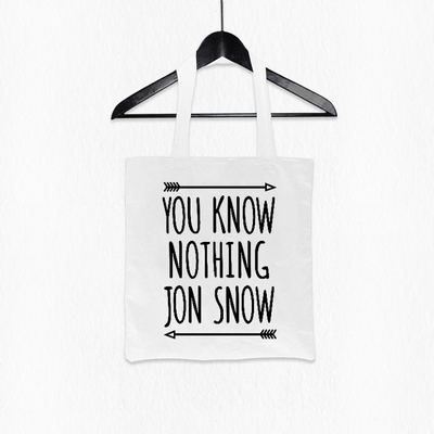 Preorder กระเป๋าถือ You know nothinf Jon Snow