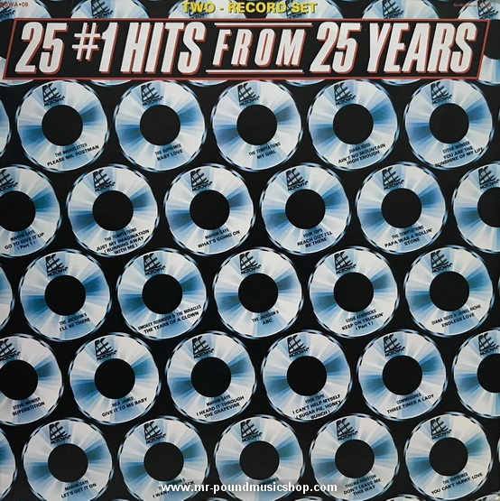 Various Artists - 25 #1 Hits From 25 Years