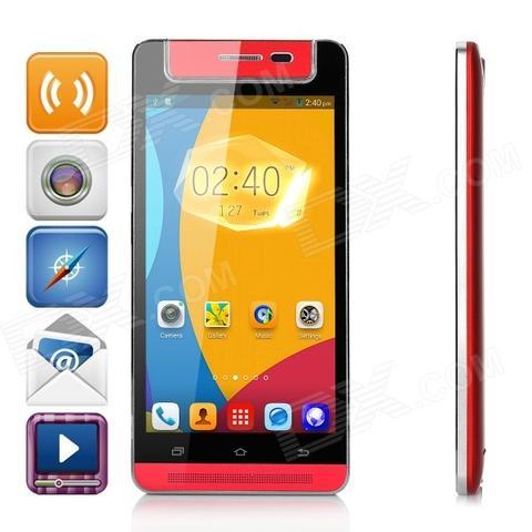 X-BO V5 3G กล้องหมุนได้ แบบ oppo ชัดแจ๋ว 5MP สีแดง