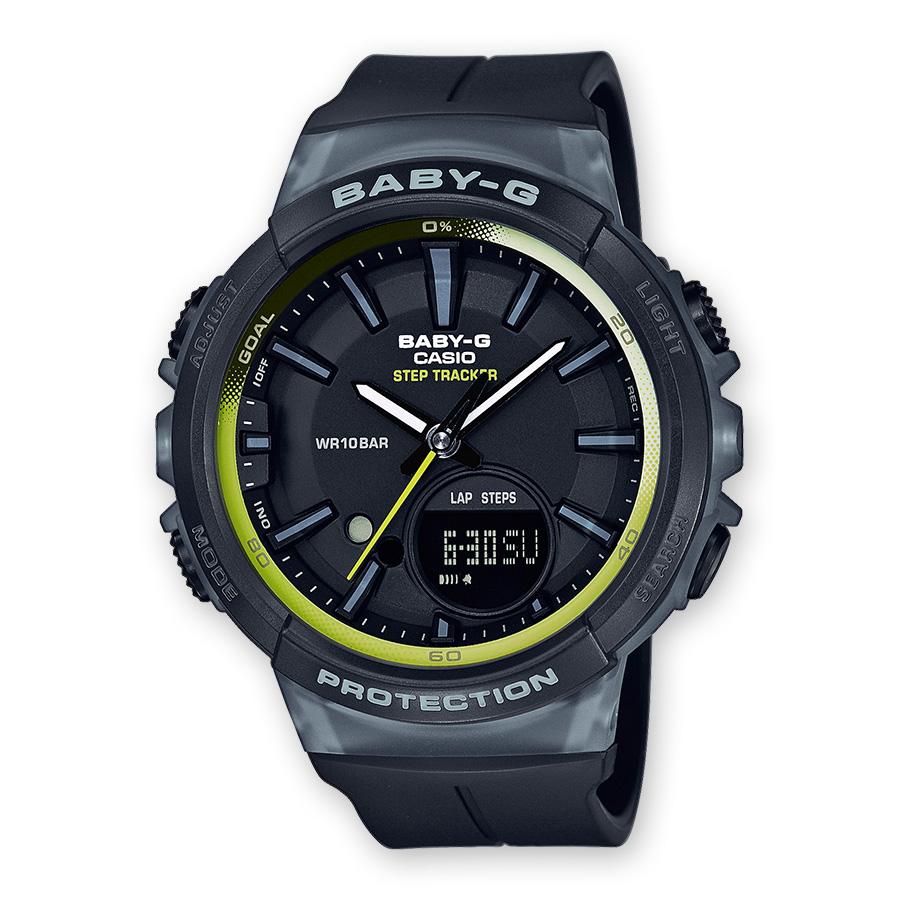 นาฬิกาผู้หญิง CASIO Baby-G รุ่น BGS-100-1A FOR RUNNING SERIES (ซีรีย์เพื่อนักวิ่ง)