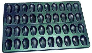 Matfer Exopan Madelaines Sheet 40 pc 80 mm (600x400 mm) (310739)