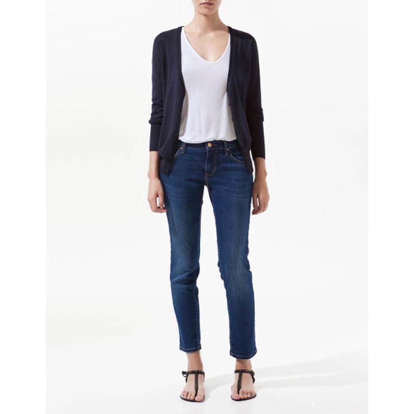 Zara Cardigans เสื้อคลุม(กรม) แท้ 100%