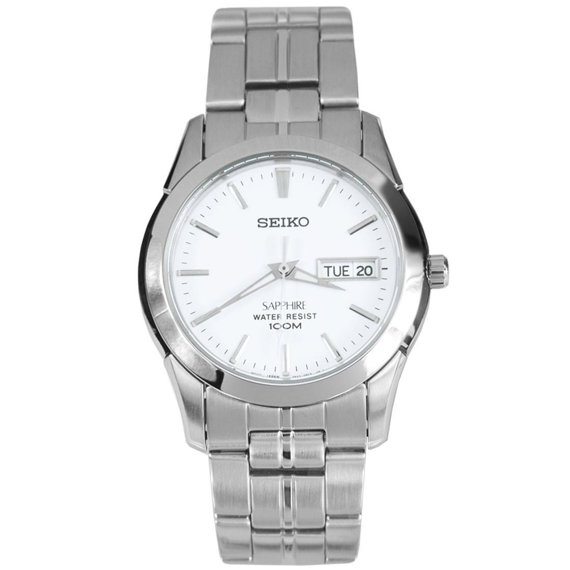 นาฬิกา SEIKO quartz sapphire SGG713P1