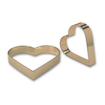 Matfer st/st Heart ring mousse 18x3.5cm 371822