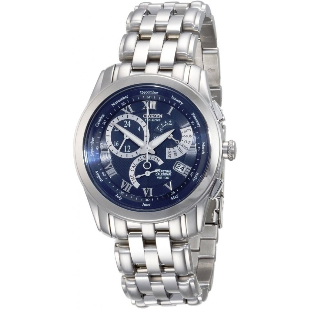CITIZEN Eco-Drive Perpetual Calendar Men's Watch รุ่น BL8000-54L
