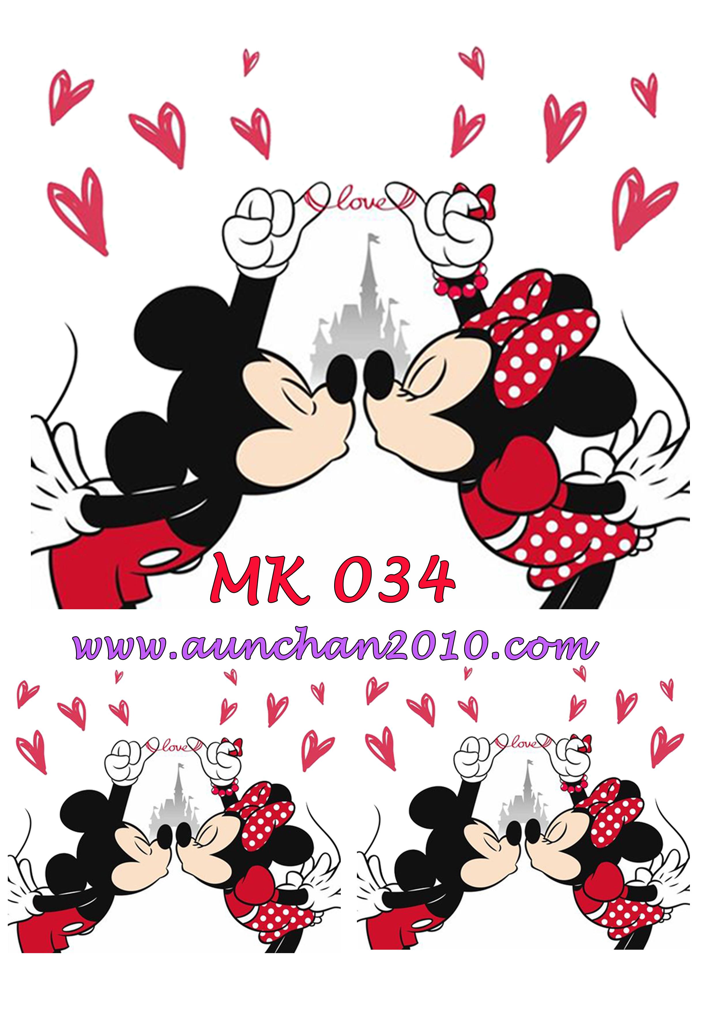 MK034 กระดาษแนพกิ้น 21x30ซม. ลายมิคกี้เม้าส์