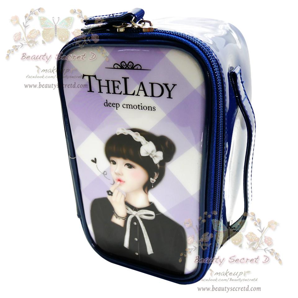 กระเป๋าเก็บเครื่องสำอาง ขนาดกลาง Vintage Cosmetics Bag