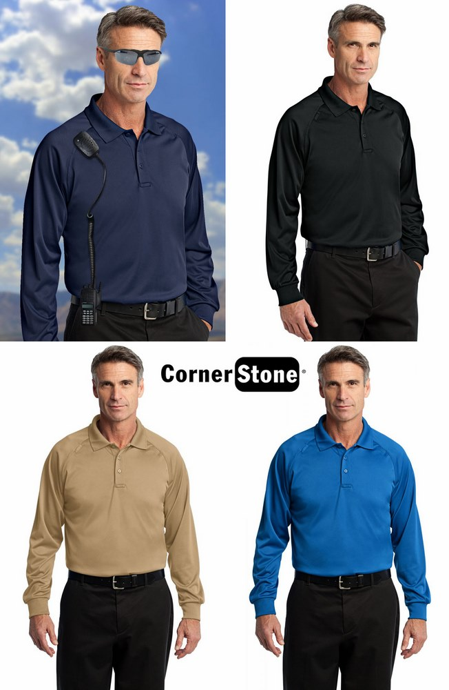 Corner Stone Snag-Proof Tactical Polo - Long sleeve