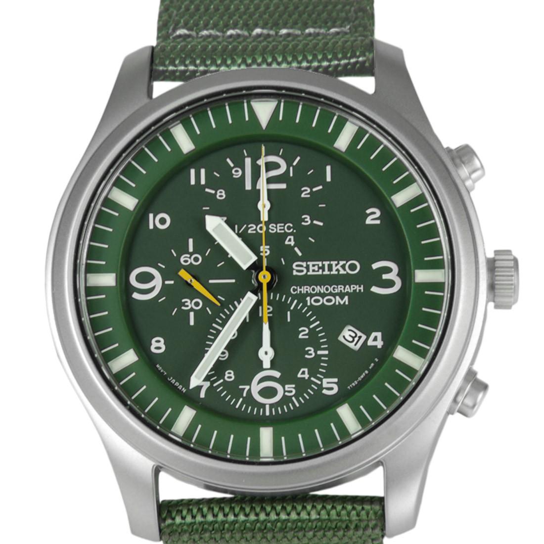Seiko Military Chronograph SNDA27P1