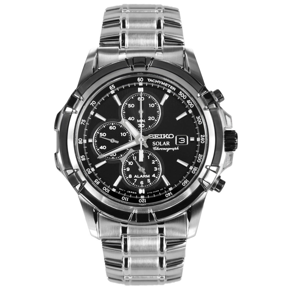 นาฬิกา Seiko Solar Chronograph Tachymeter รุ่น SSC147P1